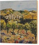 Provence 10080 Wood Print