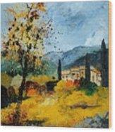 Provence 45 Wood Print