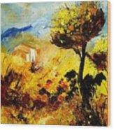 Provence 56 Wood Print