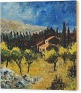 Provence 678965 Wood Print