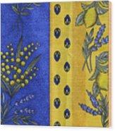 Provence Colors Wood Print