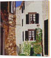 Provence Four Wood Print
