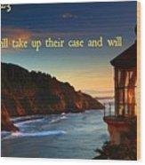 Proverbs118 Wood Print