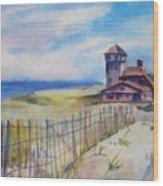 Provincetown Ocean View Wood Print