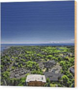 Provincetown Panoramic Aerial Wood Print