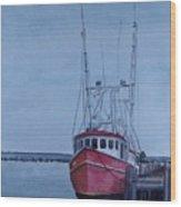 Provincetown Portuguese Wood Print