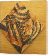 Prudence - Tile Wood Print