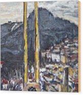 pruhled zameren na Thuny Wood Print