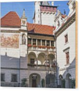 Pruhonice Castle Architecture Wood Print
