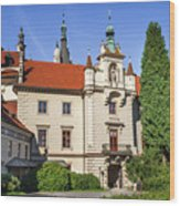Pruhonice Castle  Wood Print