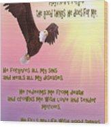 Psalm 103 Wood Print