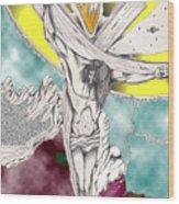 Psalm 22 Ch 13-15... Wood Print