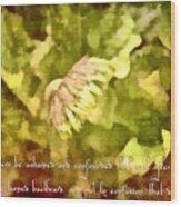 Psalm 70 2 Wood Print