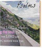 Psalms103 Wood Print