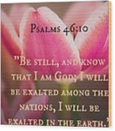 Psalms104 Wood Print