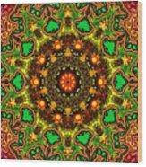 Psych Wood Print