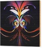 Psychedelic Dreams Wood Print