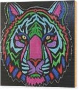 Psychedelic Fur Wood Print