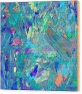 Psychedelic  Haze Wood Print