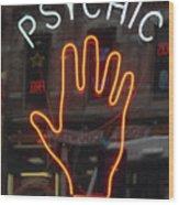 Psychic Readings Wood Print
