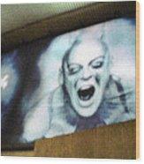 Psychosis - Bad Sign Wood Print