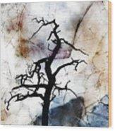 Psychotropic Moon Wood Print