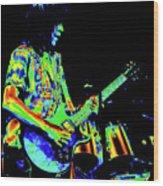 Pt78#27 Enhanced In Cosmicolors #2 Wood Print