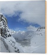 Ptarmigan Pass Tunnel North - Glacier National Park Wood Print
