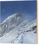Ptarmigan Pass Tunnel South - Glacier National Park Wood Print
