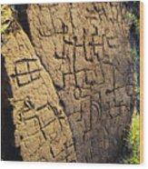 Puako Petroglyphs Wood Print