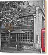 pub Wood Print