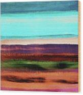 Pueblo 2- Art By Linda Woods Wood Print