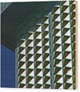 Pueblo Downtown Design 2 Wood Print