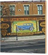 Pueblo Downtown--used Cars Wood Print