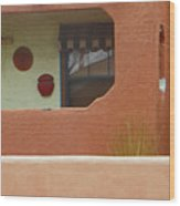 Pueblo Hacienda 8 Wood Print