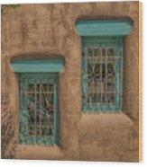 Pueblo Windows Nm Horizontal Img_8336 Wood Print