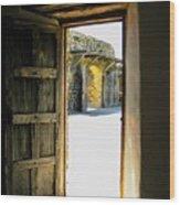 Puerta 2 Wood Print