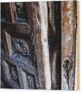 Puerta 5 Wood Print