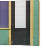 Puerta de Los Angeles Wood Print