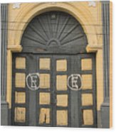 Puerta Suchitoto 2 Wood Print