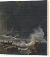 Puget  Sound  On  The  Pacific  Coast, Wood Print