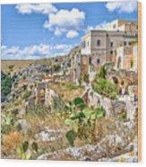 Puglia Canvas Church Hermitage Pulsano - Monte Sant Angelo - Foggia - Gargano Wood Print
