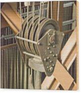 Pulley Wood Print