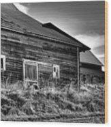 Pullman Barns Wood Print