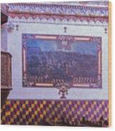 Pulpit San Xavier Mission - Tucson Arizona Wood Print