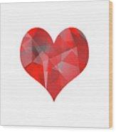 Pulsing Heart Wood Print