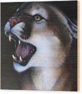 Puma II Wood Print