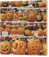 Pumpkin Festival. Wood Print