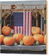 Pumpkins In Southampton Wood Print