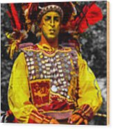 Puppeteer Wood Print